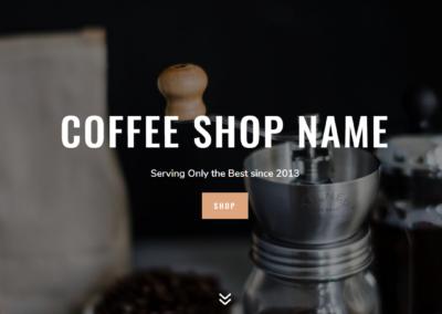 Website Coffee Shop Kedai Kopi Kafe Kedai Minum