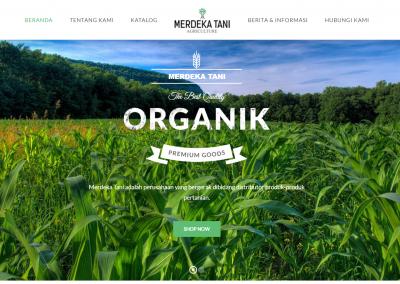 Website Merdeka Tani
