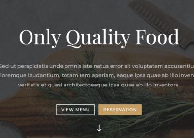 Website Restoran Kafe Rumah Makan Kantin Resto