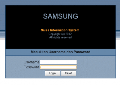Aplikasi Distributor Multi Gudang Samsung