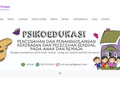 Website P2T Psikologi UPI