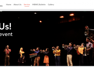 Website MBWG ITB