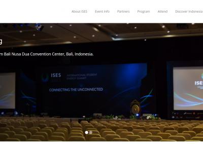 Website ISES 2015