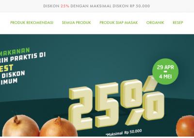 Website LOCARVEST – Katalog Sayuran