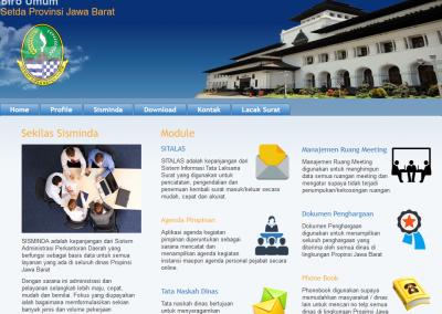Aplikasi Sitalas (Sistem Tata Laksana Surat) Gedung Sate
