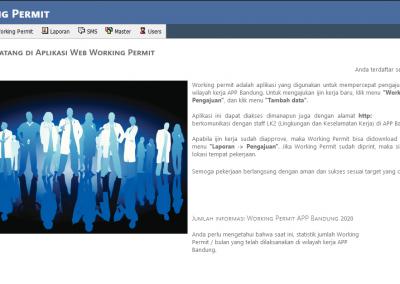 Aplikasi Working Permit (Izin Kerja) PT PLN – APP Bandung