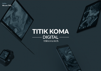 Website TITIK KOMA DIGITAL