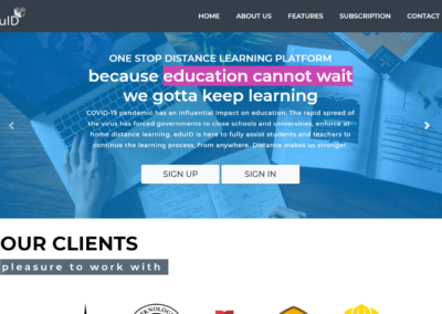 Project Eduid.id Learning Management System